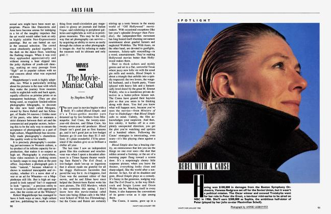 Article Preview: The Movie-Maniac Cabal, January 1985 1985 | Vanity Fair