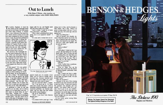 Article Preview: Out to Lunch, January 1985 1985 | Vanity Fair
