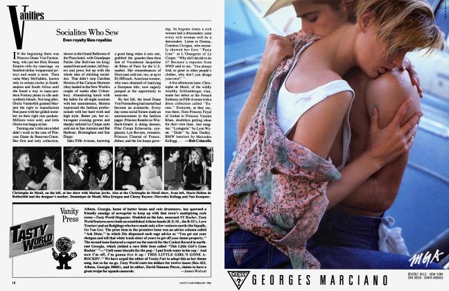Article Preview: Vanity Press, February 1985 1985 | Vanity Fair