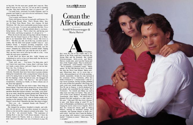 Article Preview: Conan the Affectionate, February 1985 1985 | Vanity Fair