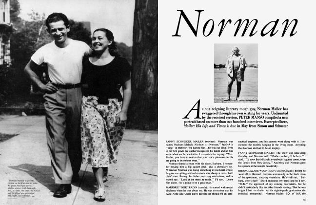 Article Preview: Norman, February 1985 | Vanity Fair