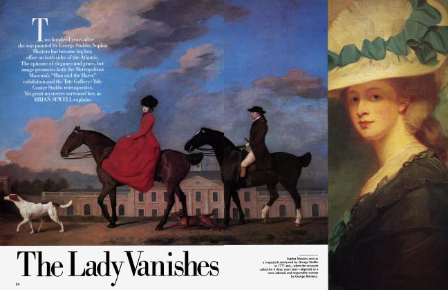Article Preview: The Lady Vanishes, February 1985 | Vanity Fair