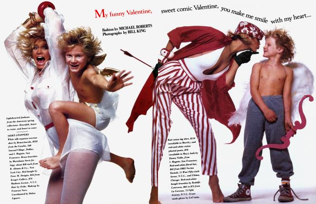 Article Preview: My funny Valentine, February 1985 1985 | Vanity Fair