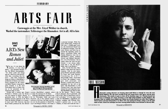 Article Preview: FULL NELSON, February 1985 1985 | Vanity Fair