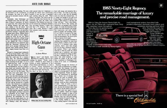 Article Preview: High-Octane Gass, February 1985 1985 | Vanity Fair