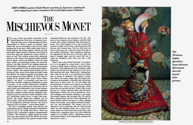 Article Preview: THE MISCHIEVOUS MONET, March 1985 1985 | Vanity Fair