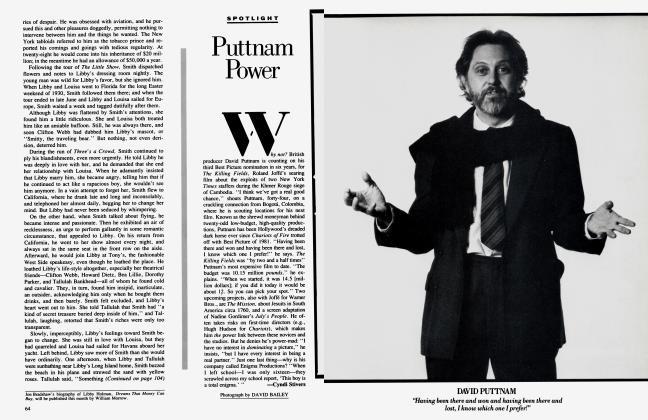 Article Preview: Puttnam Power, March 1985 1985 | Vanity Fair