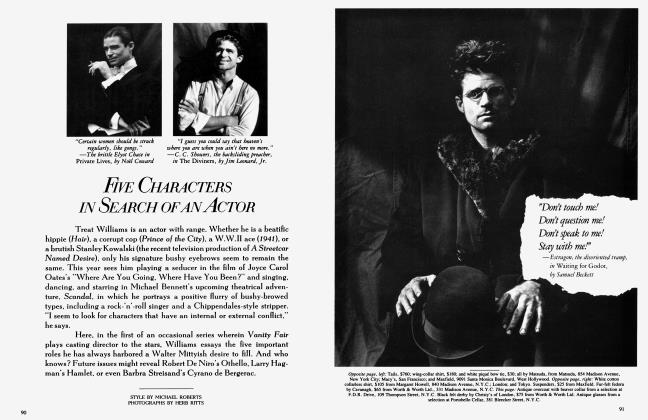 Article Preview: FIVE CHARACTERS IN SEARCH OF AN ACTOR, March 1985 1985 | Vanity Fair