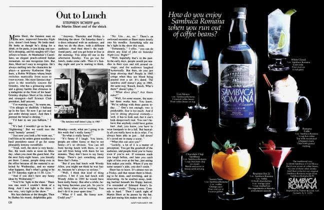 Article Preview: Out to Lunch, March 1985 1985 | Vanity Fair
