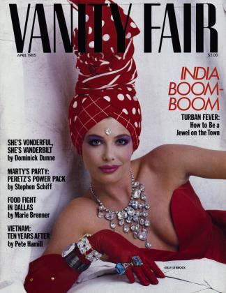 April 1985 | Vanity Fair