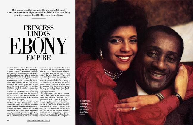 Article Preview: PRINCESS LINDA'S EBONY EMPIRE, April 1985 | Vanity Fair