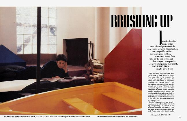 Article Preview: BRUSHING UP, April 1985 1985 | Vanity Fair
