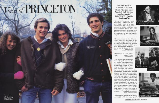 Article Preview: Voices of PRINCETON, April 1985 1985 | Vanity Fair