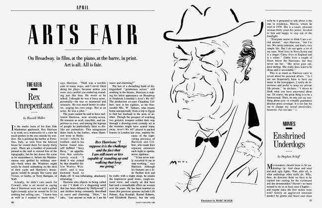 Article Preview: Enshrined Underdogs, April 1985 1985 | Vanity Fair