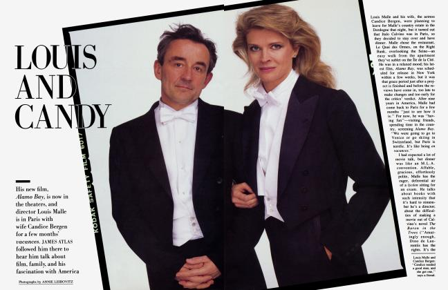 Article Preview: LOUIS AND CANDY, May 1985 1985 | Vanity Fair