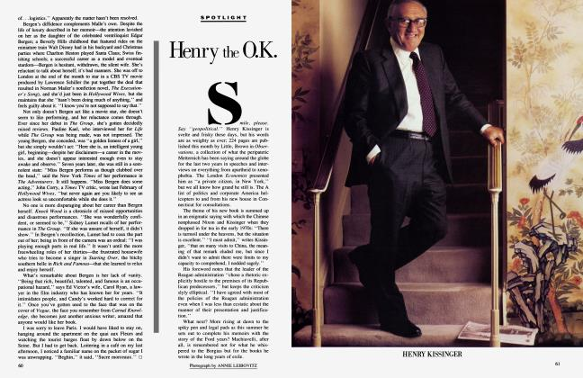 Article Preview: Henry the O.K, May 1985 1985 | Vanity Fair