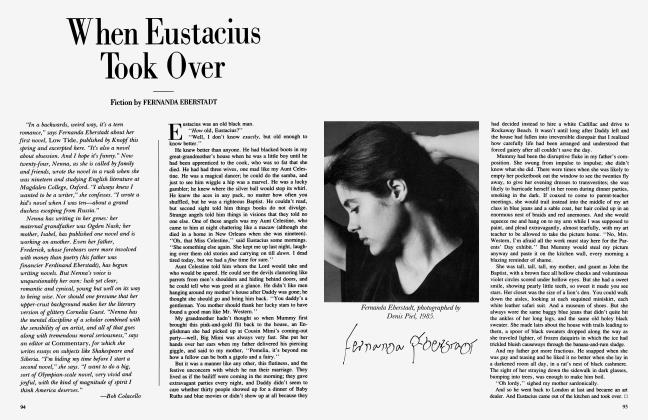 Article Preview: When Eustacius Took Over, May 1985 1985 | Vanity Fair
