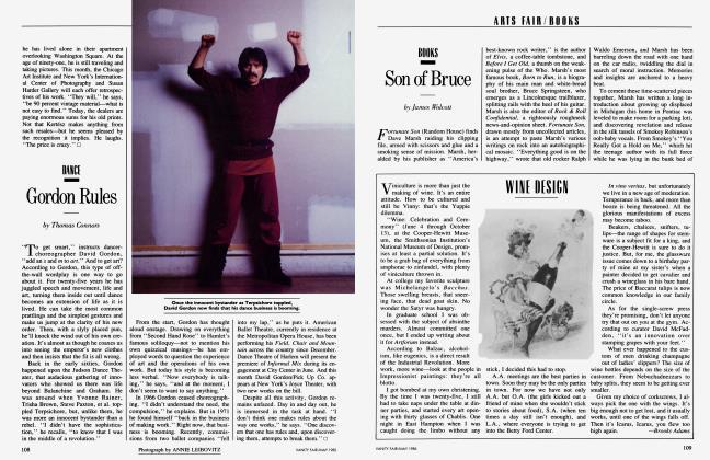 Article Preview: Gordon Rules, May 1985 1985 | Vanity Fair
