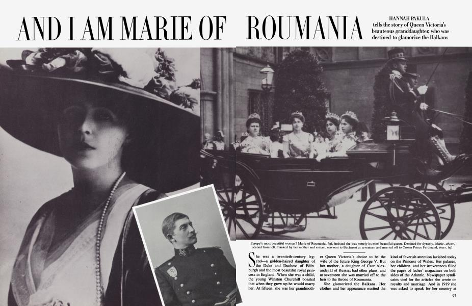 AND I AM MARIE OF ROUMANIA