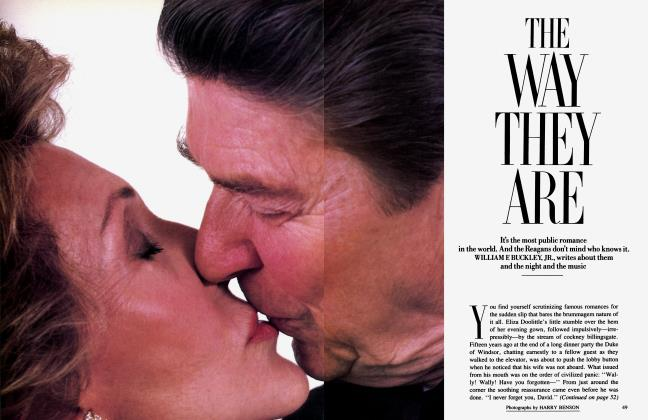 Article Preview: THE WAY THEY ARE, June 1985 1985 | Vanity Fair