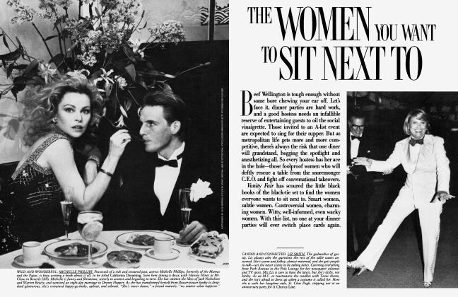 Article Preview: THE WOMEN YOU WANT TO SIT NEXT TO, June 1985 1985   Vanity Fair