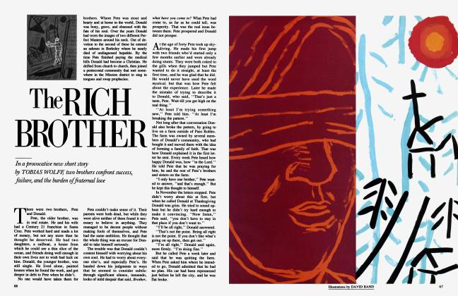 Article Preview: The RICH BROTHER, June 1985 | Vanity Fair