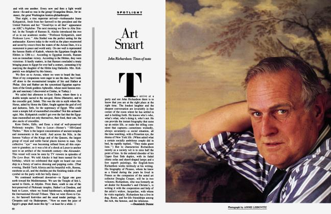 Article Preview: Art Smart, June 1985 1985 | Vanity Fair