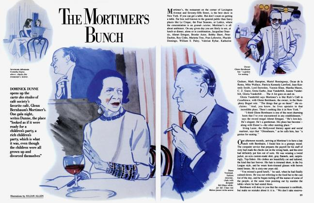 THE MORTIMER'S BUNCH