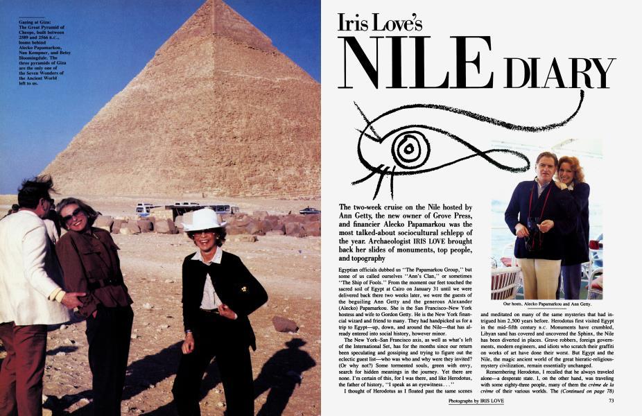 Iris Love's NILE DIARY