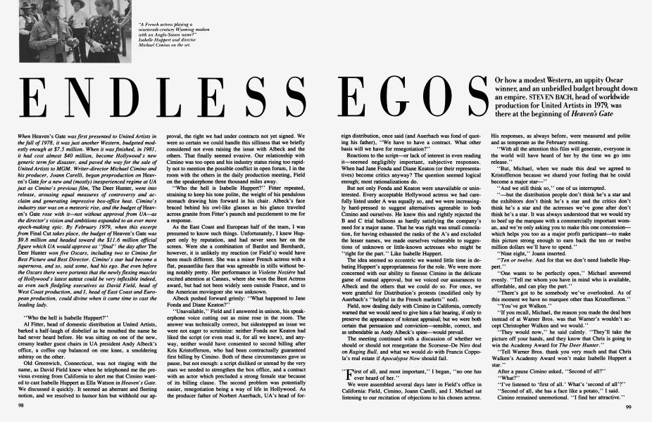 ENDLESS EGOS