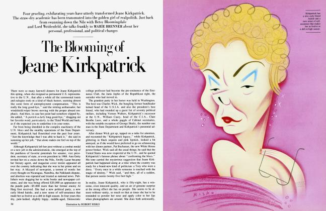 Article Preview: The Blooming of Jeane Kirkpatrick, July 1985 | Vanity Fair