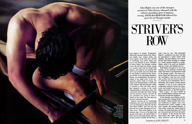 Article Preview: STRIVER'S ROW, July 1985 | Vanity Fair