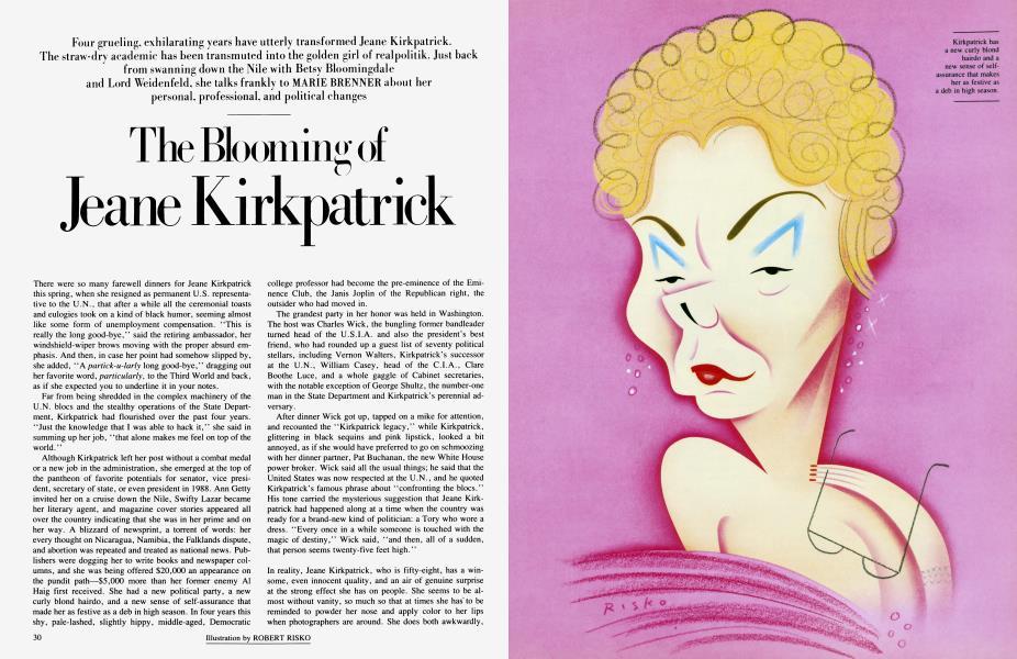 The Blooming of Jeane Kirkpatrick