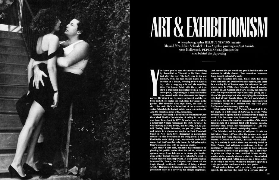 ART & EXHIBITIONISM