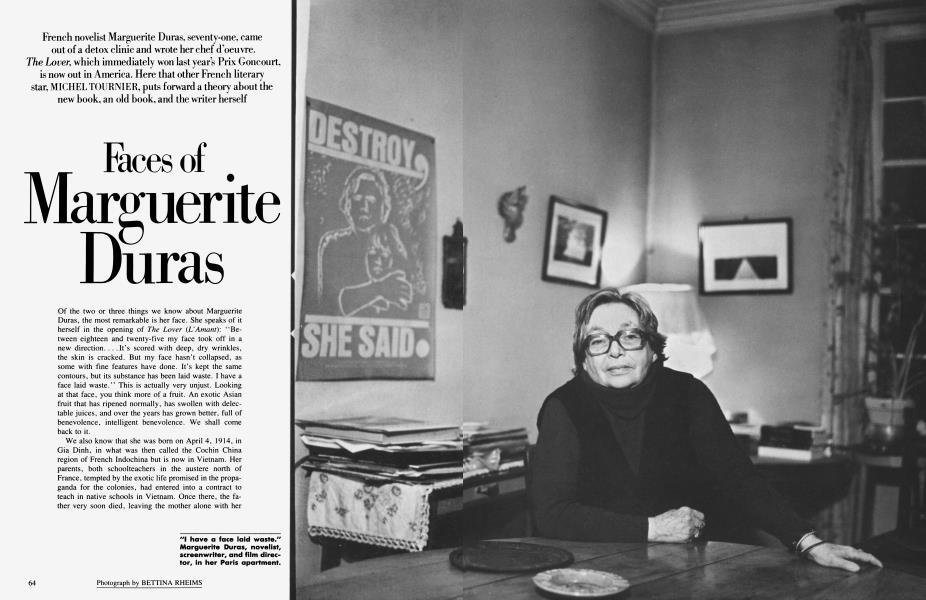 Faces of Marguerite Duras
