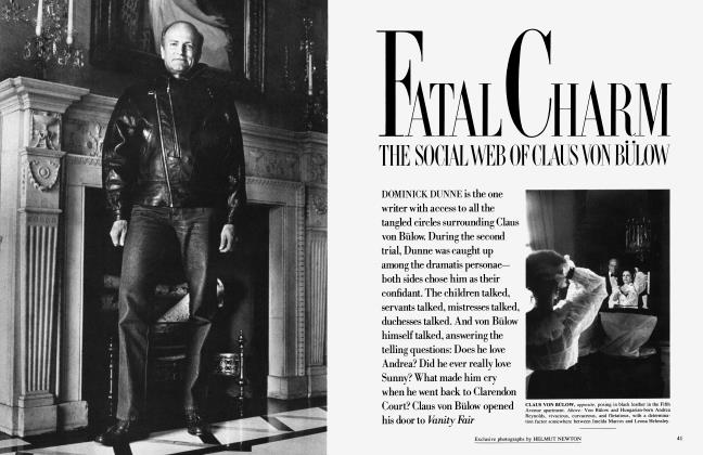 Article Preview: FATAL CHARM: The Social Web of Claus von Bülow, August 1985 | Vanity Fair