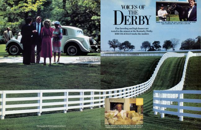 Article Preview: VOICES OF THE DERBY, August 1985 1985 | Vanity Fair