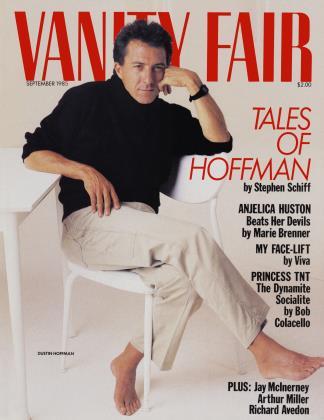 September 1985 | Vanity Fair