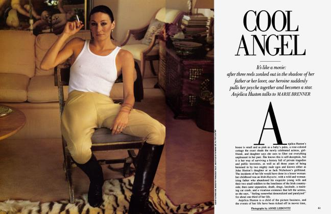 Article Preview: COOL ANGEL, September 1985 1985 | Vanity Fair