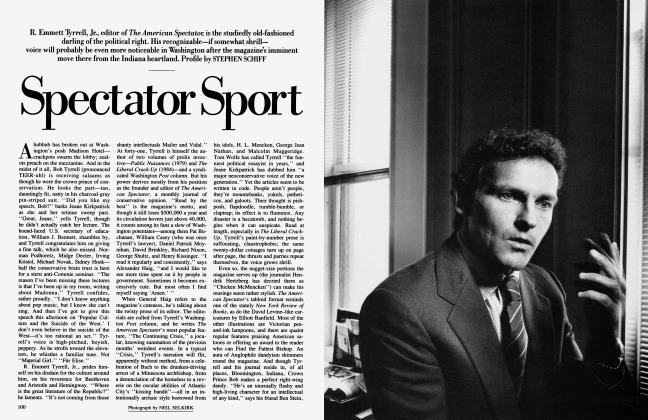 Article Preview: Spectator Sport, September 1985 | Vanity Fair