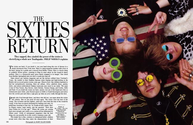 Article Preview: THE SIXTIES RETURN, September 1985 | Vanity Fair