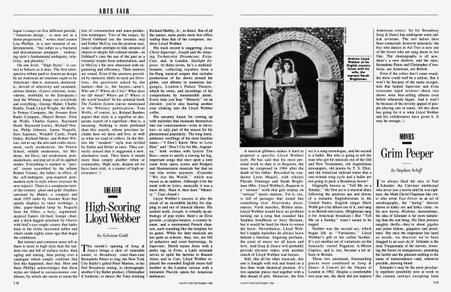 Article Preview: Grim Peeper, September 1985 1985   Vanity Fair