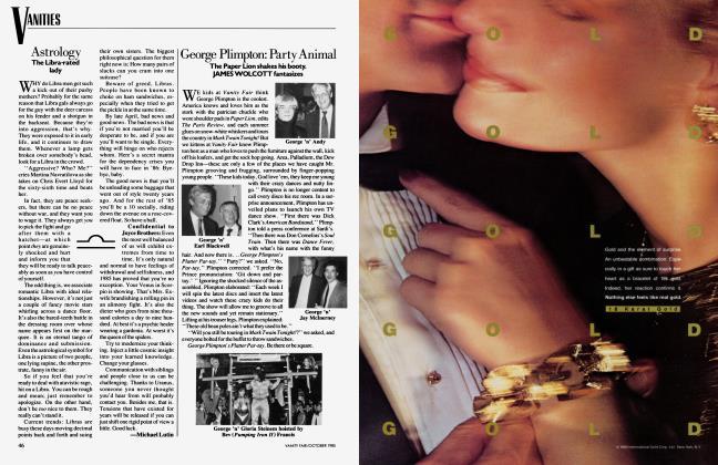 Article Preview: George Plimpton: Party Animal, October 1985 1985 | Vanity Fair