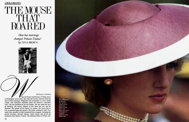 Article Preview: THE MOUSE THAT ROARED, October 1985 1985 | Vanity Fair
