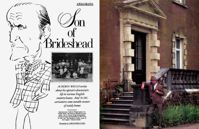 Article Preview: Son of Brideshead, October 1985 | Vanity Fair