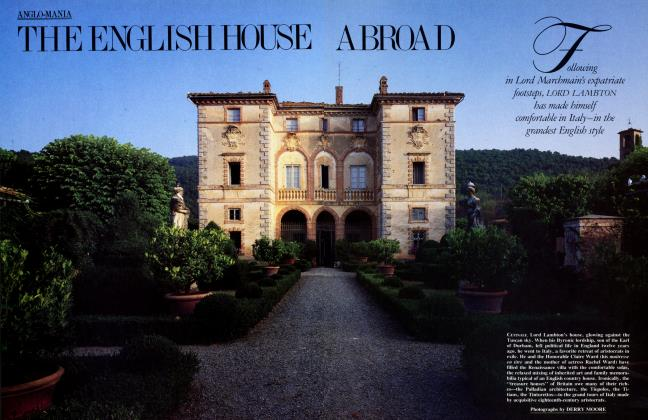 Article Preview: THE ENGLISH HOUSE ABROAD, October 1985 | Vanity Fair