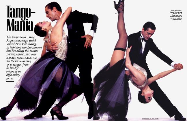 Article Preview: Tango—Mania, October 1985 | Vanity Fair