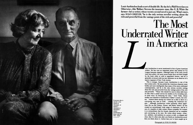 Article Preview: The Most Underrated Writer in America, October 1985 1985 | Vanity Fair