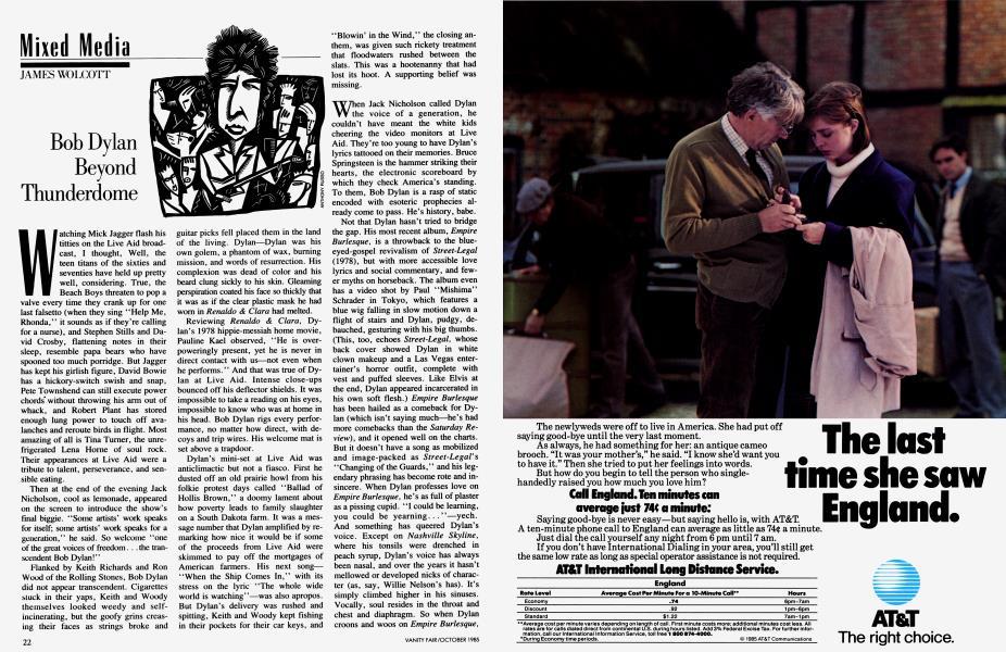 Bob Dylan Beyond Thunderdome