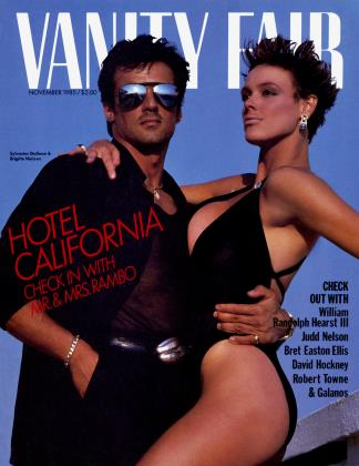 November 1985 | Vanity Fair